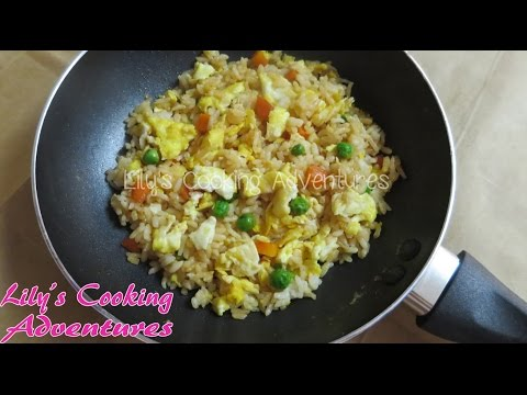 Simple And Easy Rice And Egg Kid's Meal | Com Chien