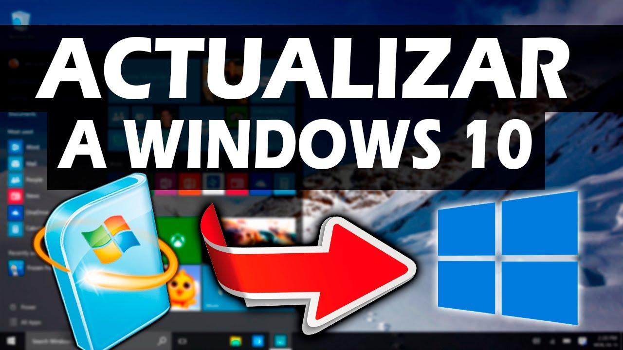 Windows 10 actualizacion gratuita