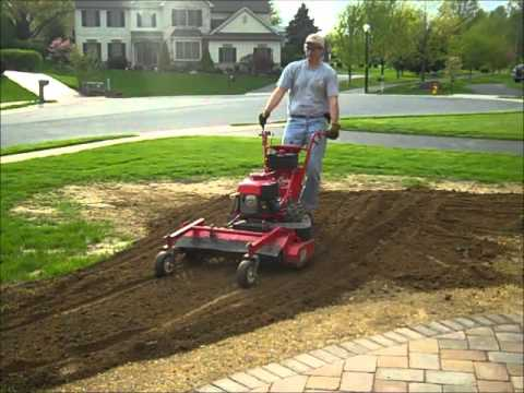 Turf Teq Power Rake Demo