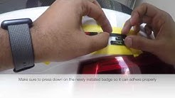 BMW M3 Video Blog 3: How to Black Out the rear ///M3 badge step by step install
