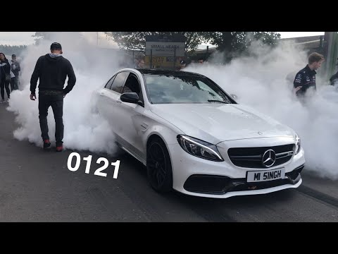 Vlog 26 - Msl Charity event, burnout and loads of performance and super cars !