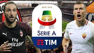 MILAN - ROMA | HIGUAIN vs DZEKO!! Serie a 2018-19 Prediction