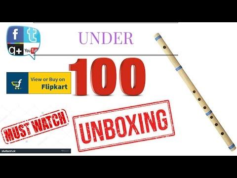 N S PADAM MUSIC HOUSE Wooden Flute UNBOXING UNDER 100 BUY FLIPKART 2017