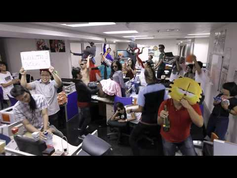 Harlem Shake GlobalTV Indonesia - Sales & Marketing (Office Edition)