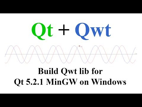Qt + Qwt  Build and install Qwt lib for Qt 5 2 1 MinGW on