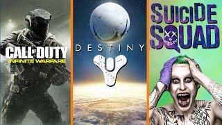 Call of Duty's Infinite Infinite Warfare + Destiny F2P Scare + Suicide Squad Is #1 - The Know
