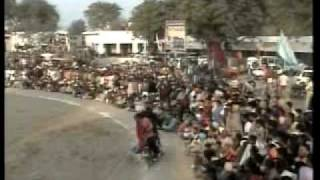 Stunt on bullet-Major Hindostani{Dina Sahib}.wmv