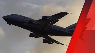 rare las vegas sands corporation 747sp   nassau takeoff