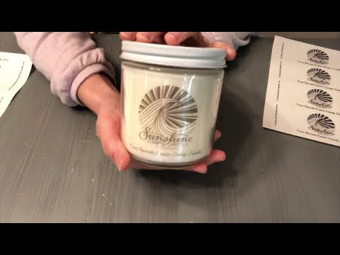 How To Make and Test Burn a New Candle and the Importance of  Branding and Labeling