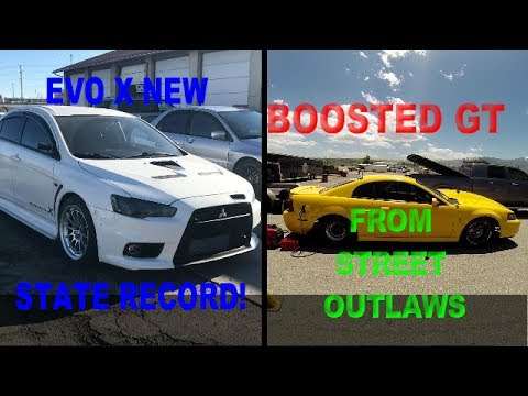 UTAH'S FASTEST EVO X (ft. Boosted GT from Street Outlaws) AT STREET CAR SHOOTOUT SLC.