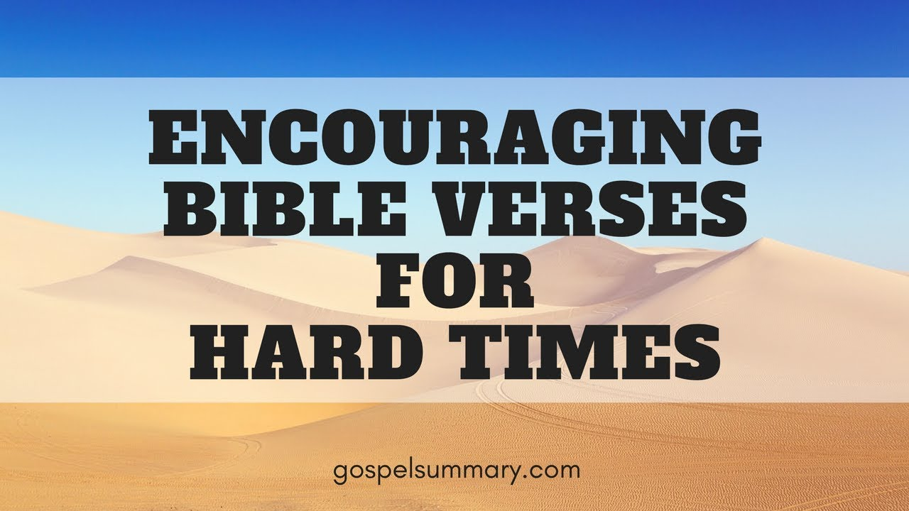 encouraging bible verses for