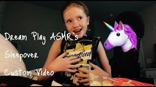 ASMR- 🦄 Dream Play ASMR's Custom Sleepover Roleplay Vid 🦄💕🌸