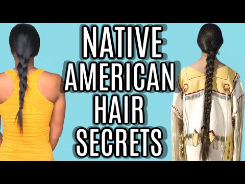 NATIVE AMERICAN LONG HAIR GROWTH SECRETS FOR STRONGER HAIR