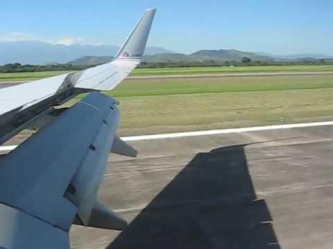 Landing in (SAP) San Pedro Sula, Honduras, Central America