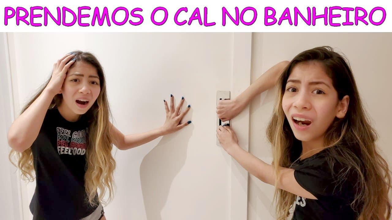 PRENDEMOS O CAL NO BANHEIRO