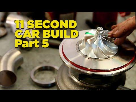 Gramps The 11 Second Car - Build Part 5