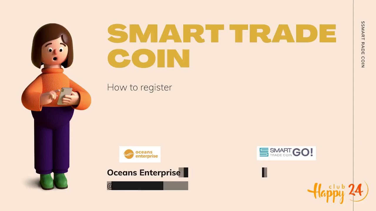 How to register Smart Trade Coin