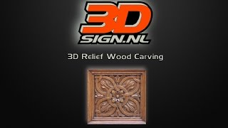 3d Relief Wood Carving