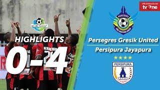 Persegres Gresik United vs Persipura Jayapura: 0-4 All Goals & Highlights