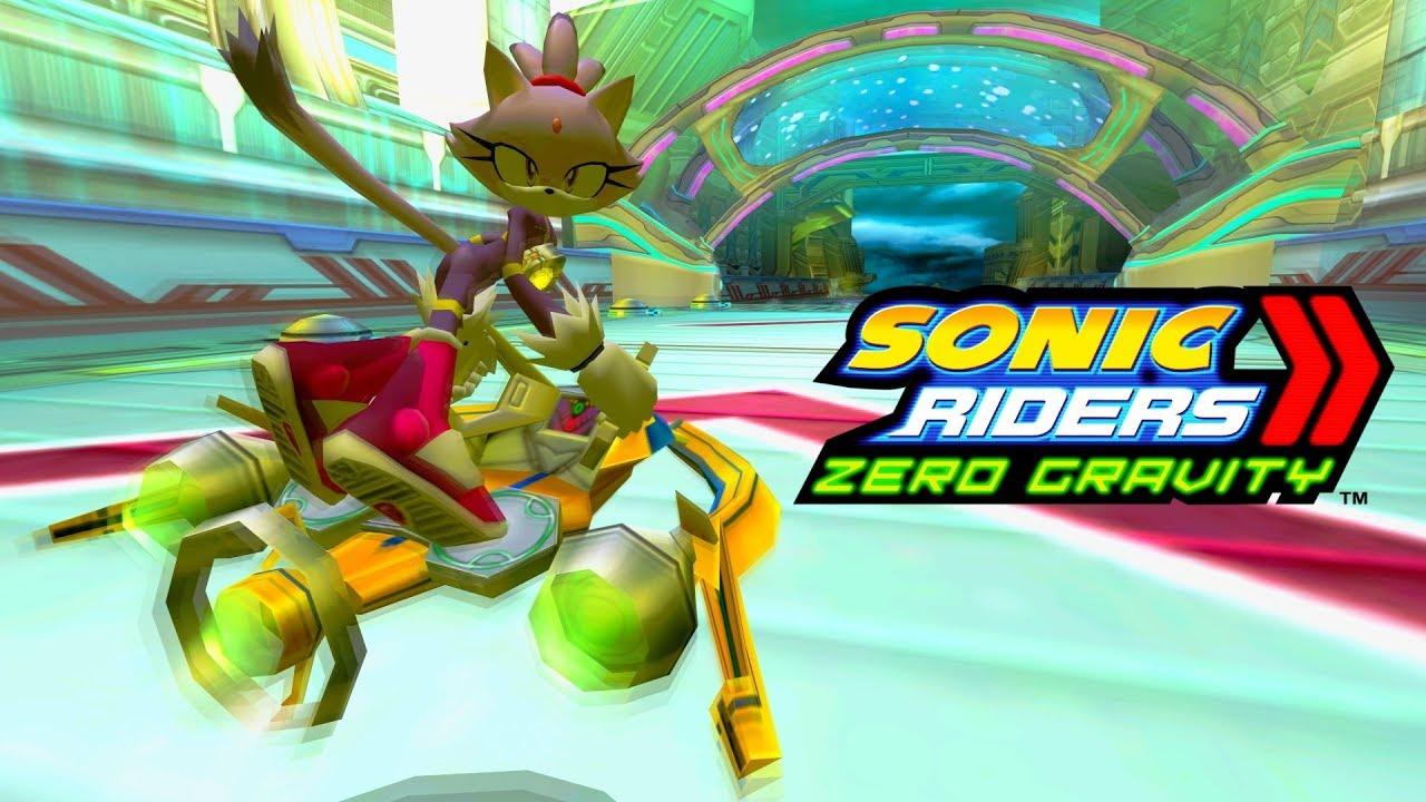 Sonic riders zero gravity tempest waterway blaze 4k 60 - Gravity movie 4k ...