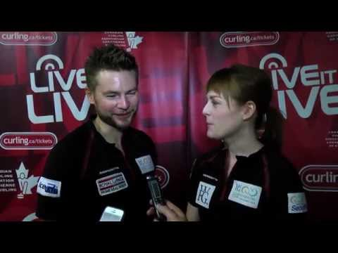 Media Scrum (Draw 7) - 2015 World Financial Group Continental Cup