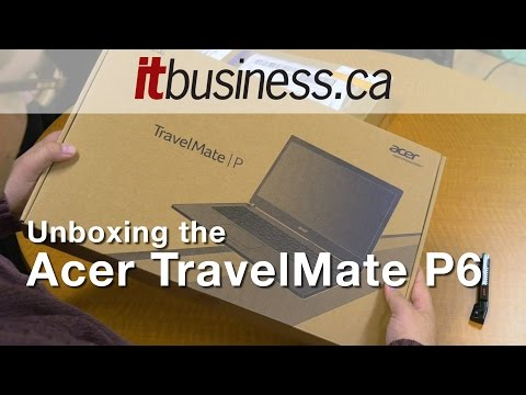 unboxing-the-acer-travelmate-p6-ultrabook