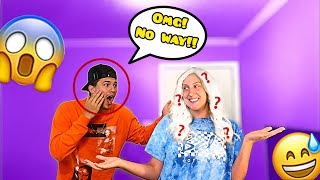 REVEALING MY NEW HAIR COLOR TO MY BOYFRIEND!!! **CUTE REACTION**