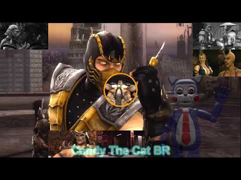 "(Mortal Kombat 9) Scorpion: ""Vengeance will be mine!"" [Sparta Wraith KPE Remix]"