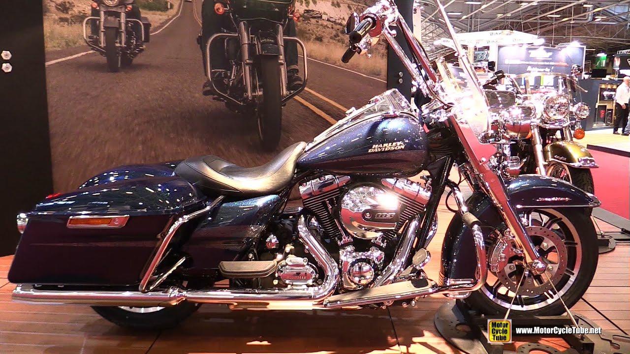 2016 harley davidson road king walkaround 2015 salon de la moto paris youtube. Black Bedroom Furniture Sets. Home Design Ideas