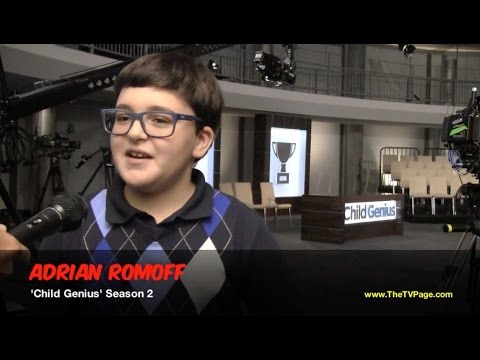 Adrian Romoff from 'America's Got Talent' Talks About Competing on 'Child Genius'