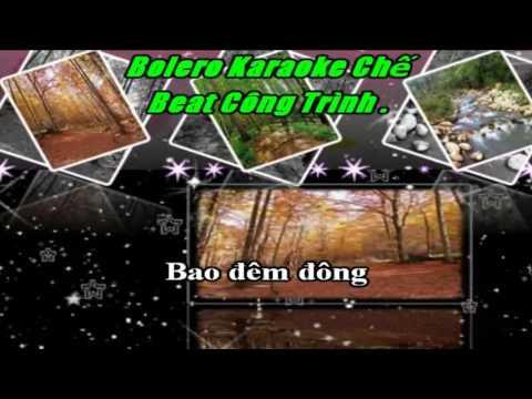 Karaoke nhac che khoc tham beat hay
