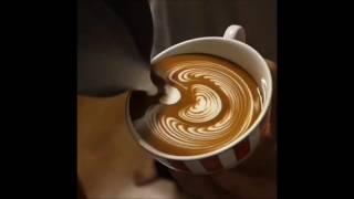 Как нарисовать рисунок на кофе