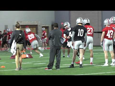 Ohio State football first practice
