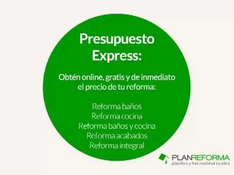 Precio de reforma de un piso: online, gratis, fácil y automático cn Plan Reforma