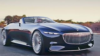 Mercedes Maybach 6 Cabriolet Extreme Luxury смотреть