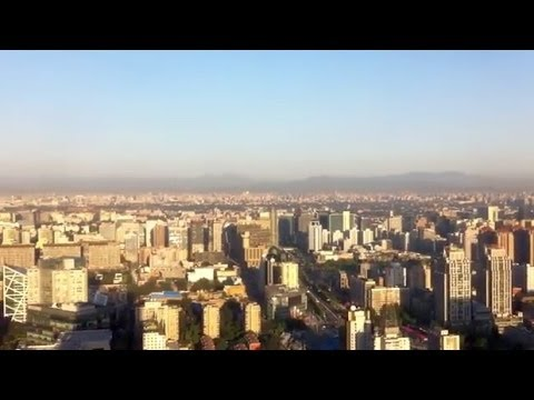Beijing Skyline on a very clear day (this is rare)