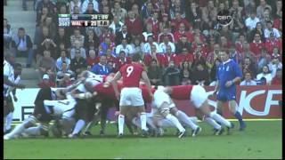 Rugby 2007. Pool B. Wales v Fiji
