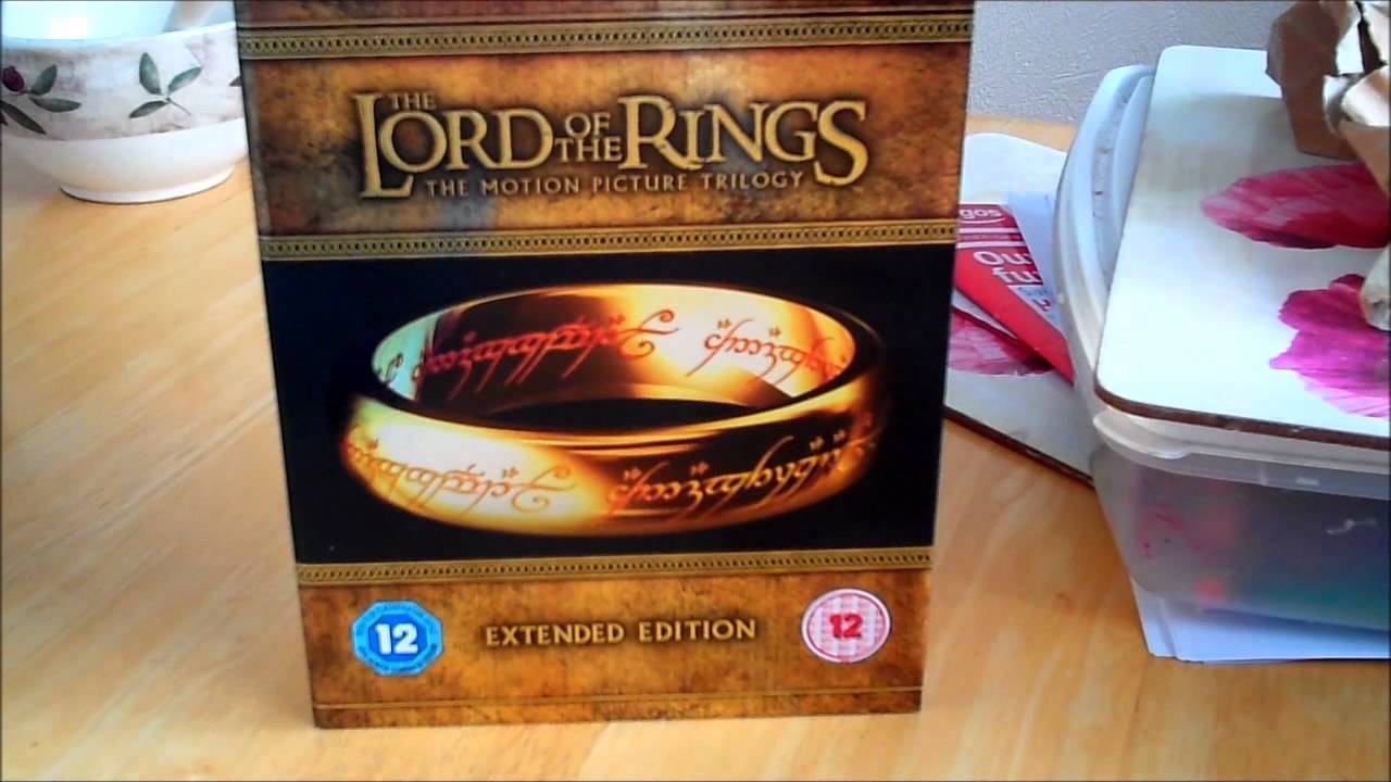 Lord Of The Rings Extended Blu Ray Uk