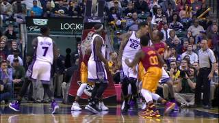Matt Barnes INCREDIBLE Assist to Kosta Koufos | 01.27.17