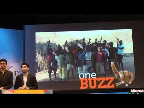 Imagine Cup 2011 世界大会 Finalist Presentation OneBuzz (NZ)