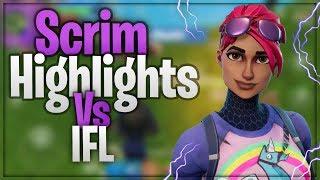 Fortnite Mobile Pro | Scrim Highlights Vs IFL | Best On Mobile