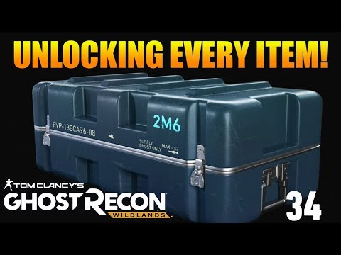 UNLOCKING EVERY ITEM IN BATTLE CRATES! | Ghost Recon Wildlands Battle Crate Opening