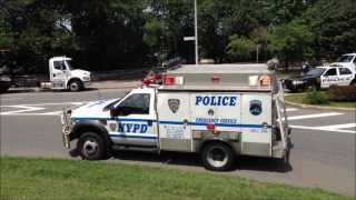 MAJOR NYPD INVESTIGATION, ELITE NYPD UNITS, NYPD ESU, FORT LEE NJ POLICE & BERGEN COUNTY NJ SHERIFF.