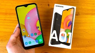 Samsung Galaxy A01 Unboxing & First Impressions!