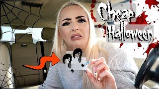 I BUY THE CHEAPEST THING AT THE HALLOWEEN STORE!!!
