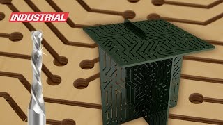 Digitural Coffee Table Built Withamana Tool Industrial Cnc Solid Carbide Compression Router Bits
