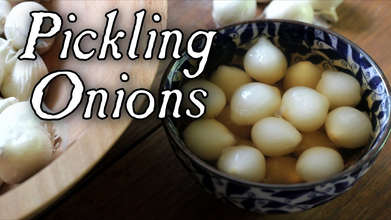 Pickling Onions Made Easy!