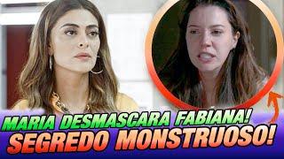 """"""" A Dona do Pedaço """" - Maria da Paz descobre SEGREDO CABULOSO de Fabiana e desmascara a megera!"""