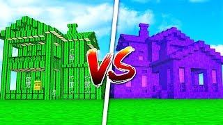 KAKTUS HUS vs PORTAL HUS // Dansk Minecraft