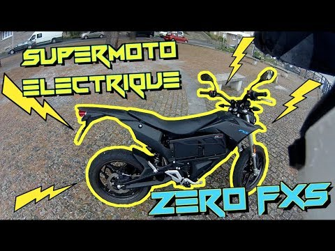 ⚡️Essai Supermotard Électrique ! Zero FXS ⚡️- ErDoZz